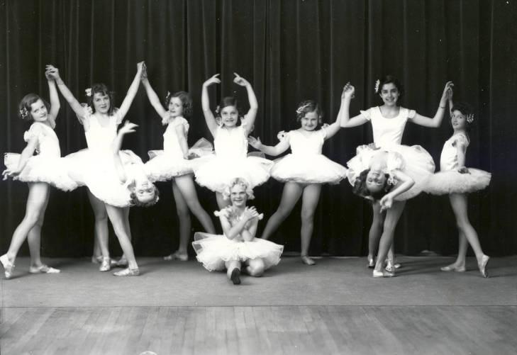 Ballerinas 1923 Albuquerque Albuquerque Museum Photo Archives Contentdm Title Body Adornment Valley College Culture