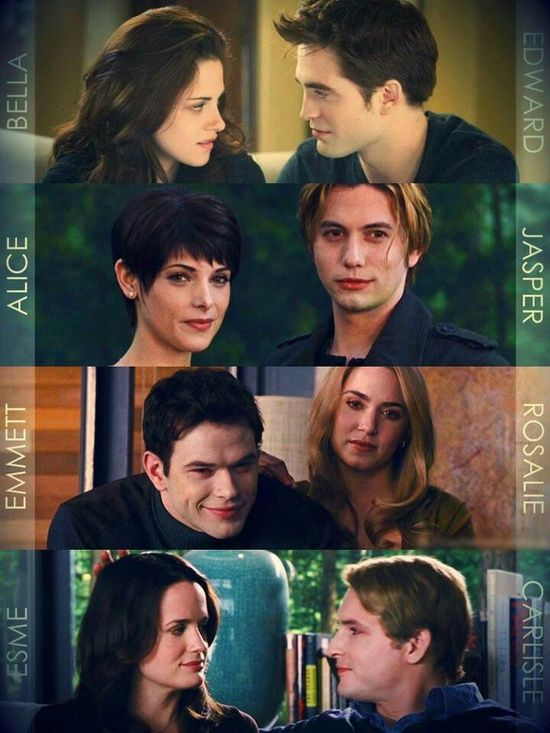 The Twilight Saga Breaking Dawn Part 2 Pic Of The Cullen's ❤