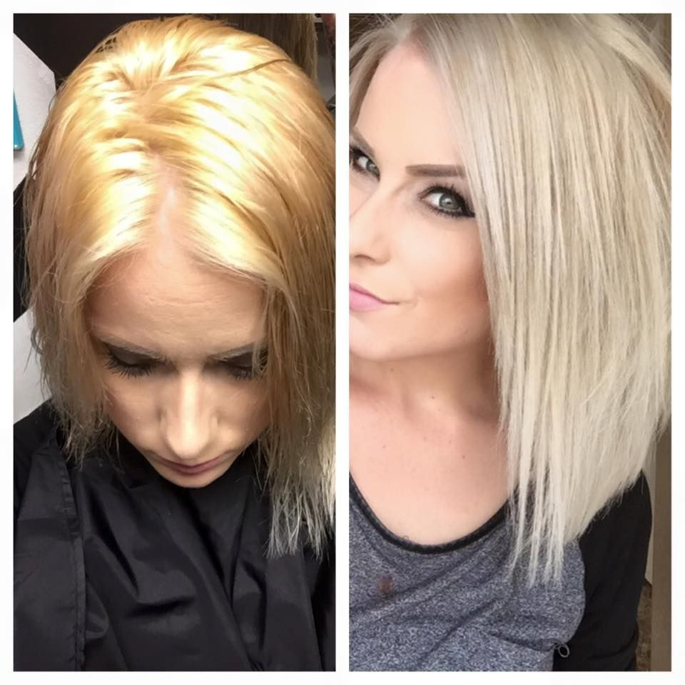 Work By Stylist Amanda Morgan She Toned With Kenra Color 10sm