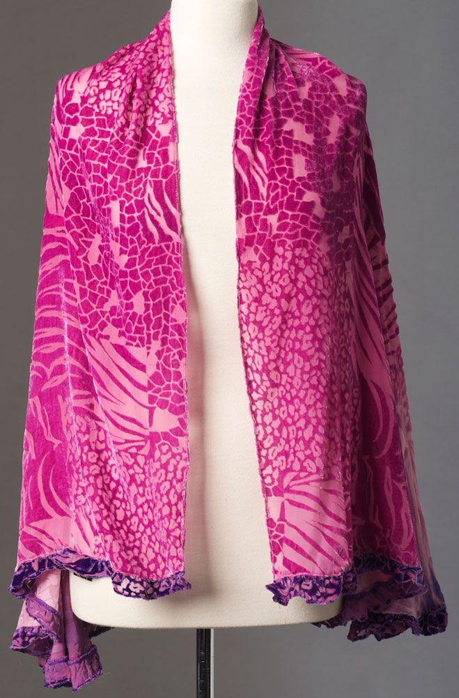 Tie Dye Romantic Shawl: Western Wear | Women Western Clothing | Western Apparel Clothing