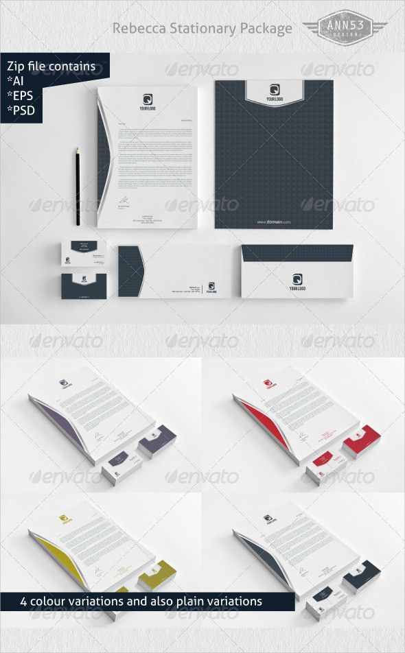 PSD Letterhead Template 51 Free Format Download