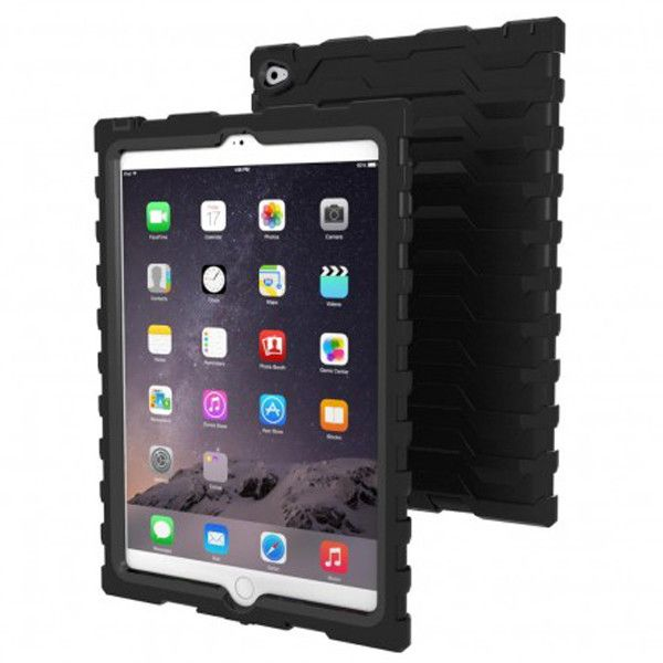 Hardcandy shockdrop case for iPad air2 in black