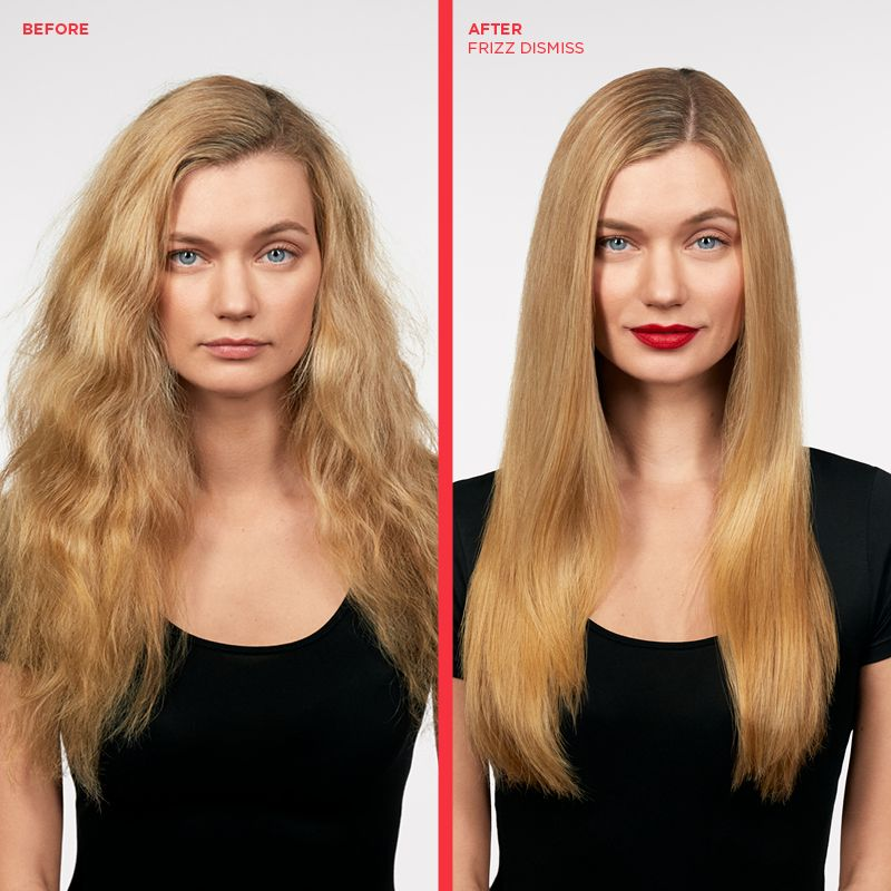 Before And After Using Redken Frizz Dismiss Fight Frizzy Hair With This Must Have Range Frizz Dismiss Damp Hair Styles Highlights Brown Hair