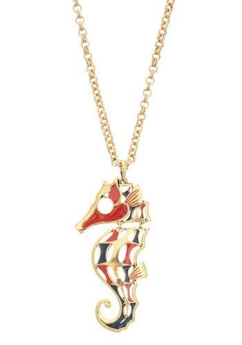 Unique Vintage Seahorse Necklace