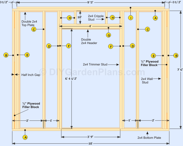Diy door frame google search furnishing pinterest for Garage framing instructions