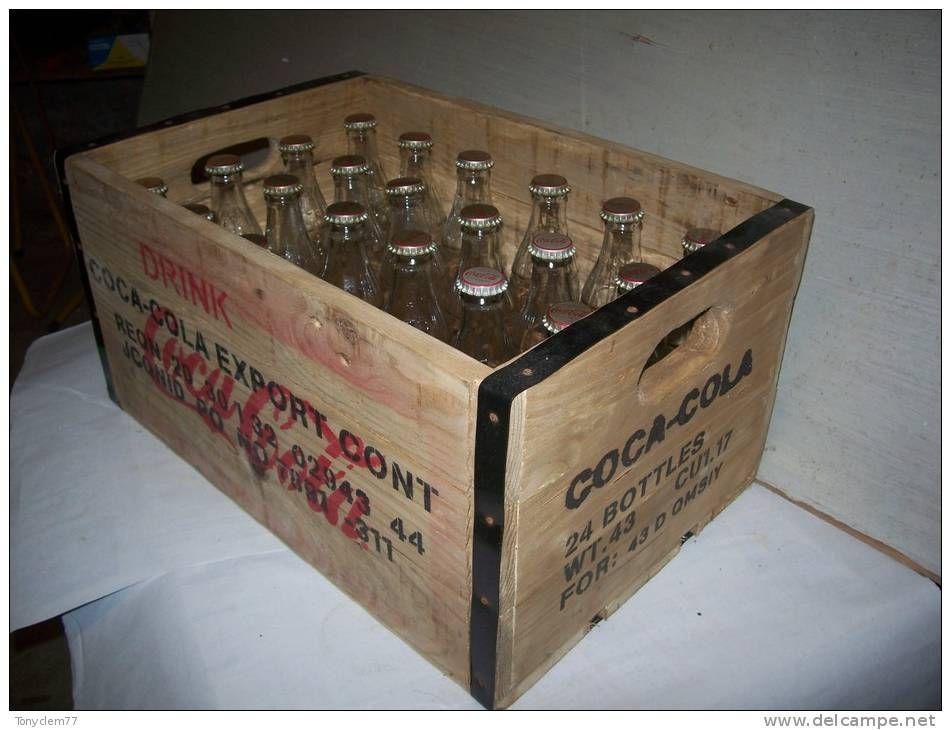 buvette repro sympa de caisse de transport de bouteilles coca cola ww2 us buvette bar. Black Bedroom Furniture Sets. Home Design Ideas