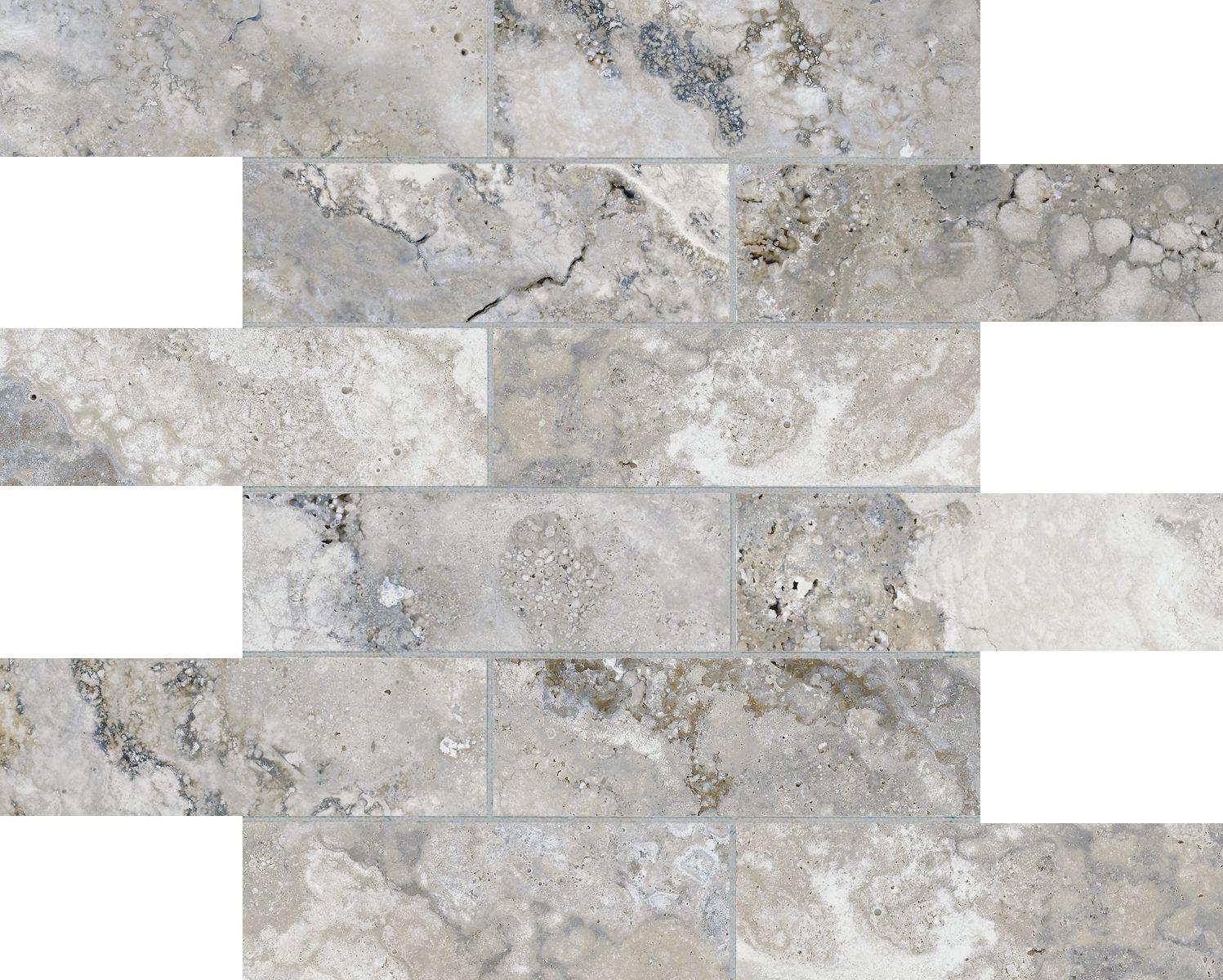 2x6 argento mosaics montecelio high definition porcelain ceramic stone tiles argento mosaic by san marco dailygadgetfo Choice Image