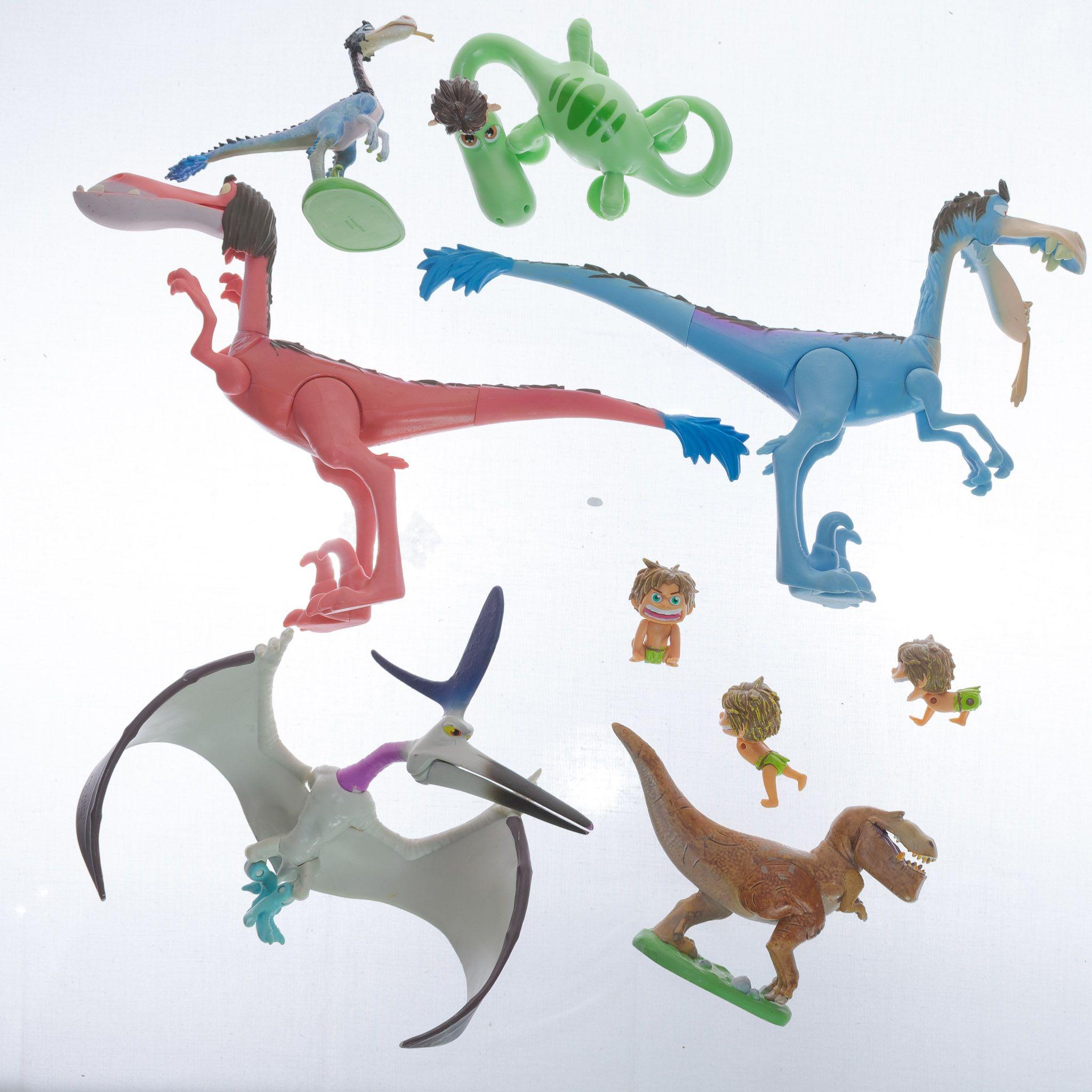 4 disney pixar good dinosaurs mixed lot thunderclap buddha