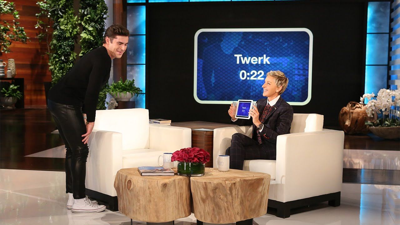 Zac Efron Exhibits Some Bad Behavior TheEllenShow TheEllenShow