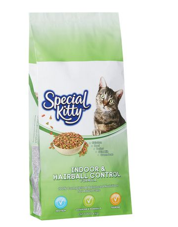 Special Kitty Indoor Hairball Control Dry Cat Food 4kg