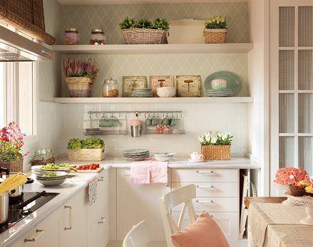 Cocinas muebles decoraci n dise o blancas o peque as - El mueble cocinas y banos ...