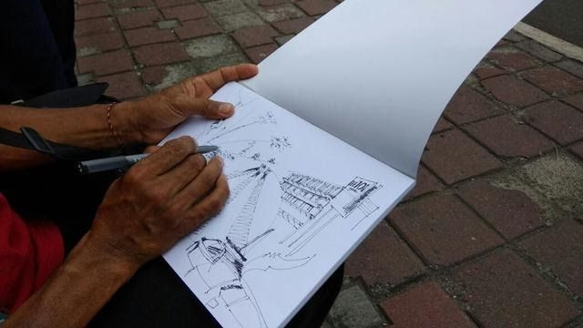 Wow 30 Gambar Lingkungan Sekolah Kartun Berwarna 6 Cara Menggambar Sketsa Yang Simpel Cocok Untuk Pemula Downloa Di 2020 Pemandangan Gambar Ilusi Optik Buku Gambar