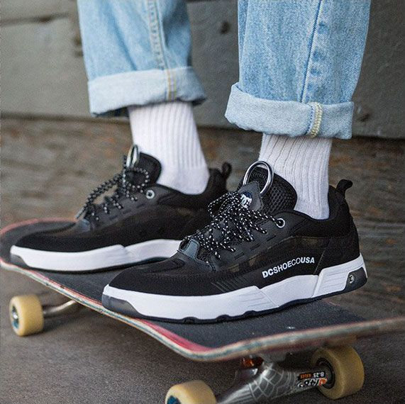 1bc0e11741a70 Engineered for comfort and performance - the DC Shoes Legacy 98 Slim. ⠀   skatedeluxe  SK8DLX  YOURSFORTHETAKING