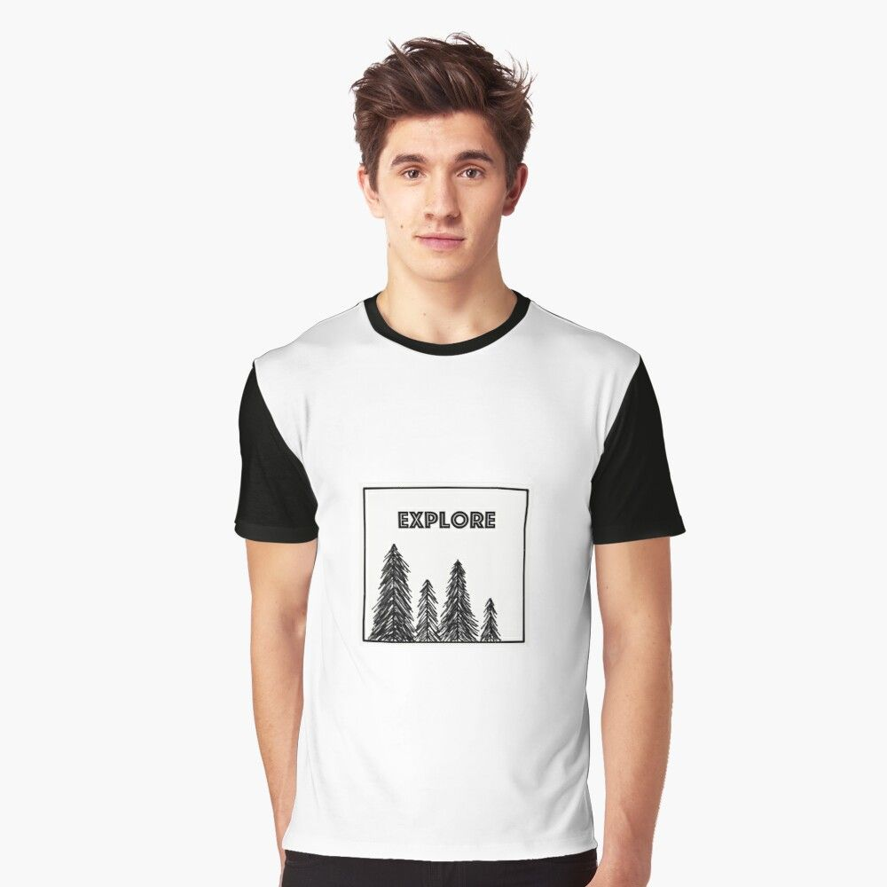 nature walk Graphic T-Shirt by Camryn B