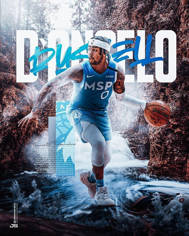 Jsgraphixs On Instagram D Angelo Russell Design My Submission For The Ehcartwork Final Leav In 2020 Nba Pictures Cool Basketball Wallpapers Basketball Wallpaper