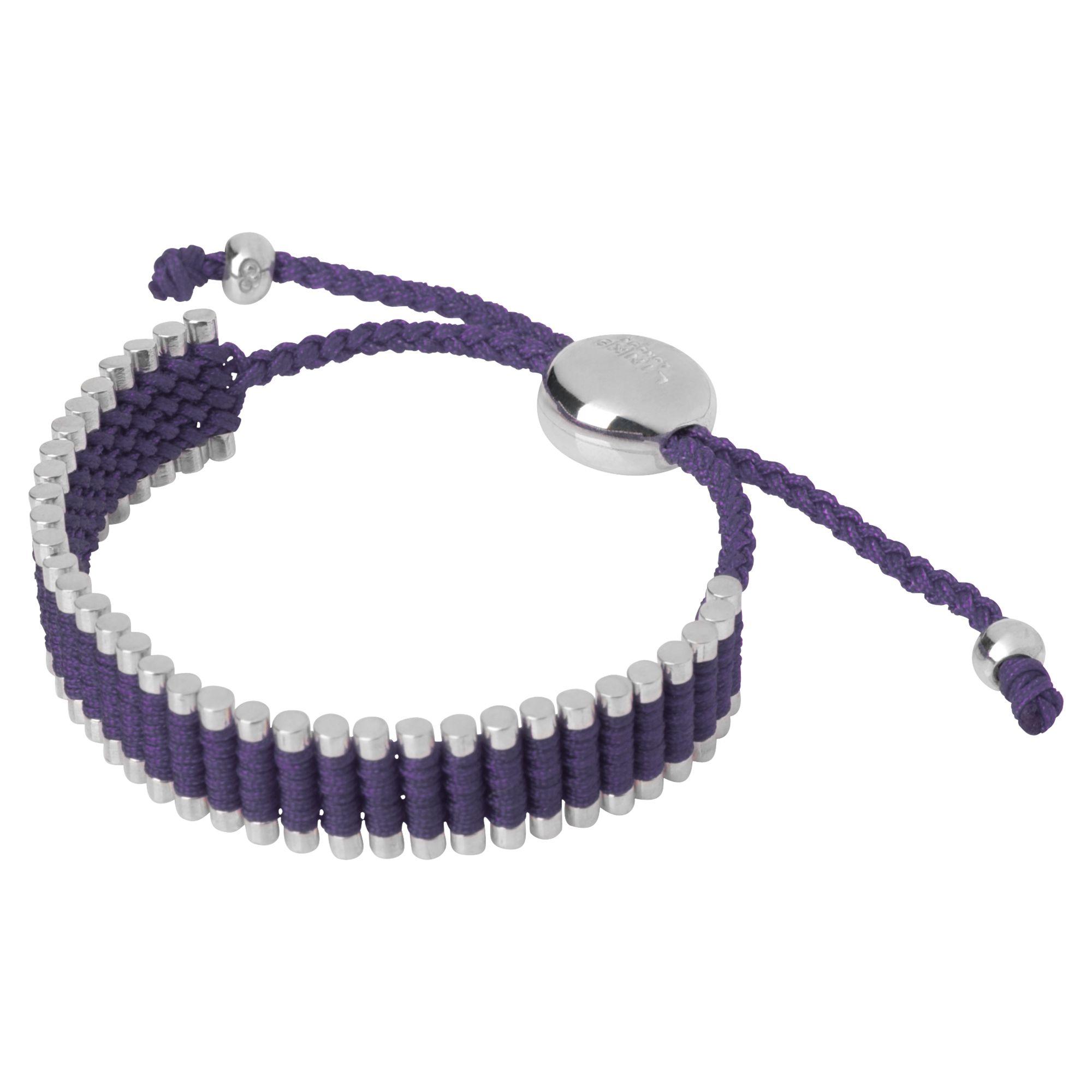 Links of London Purple Friendship Bracelet