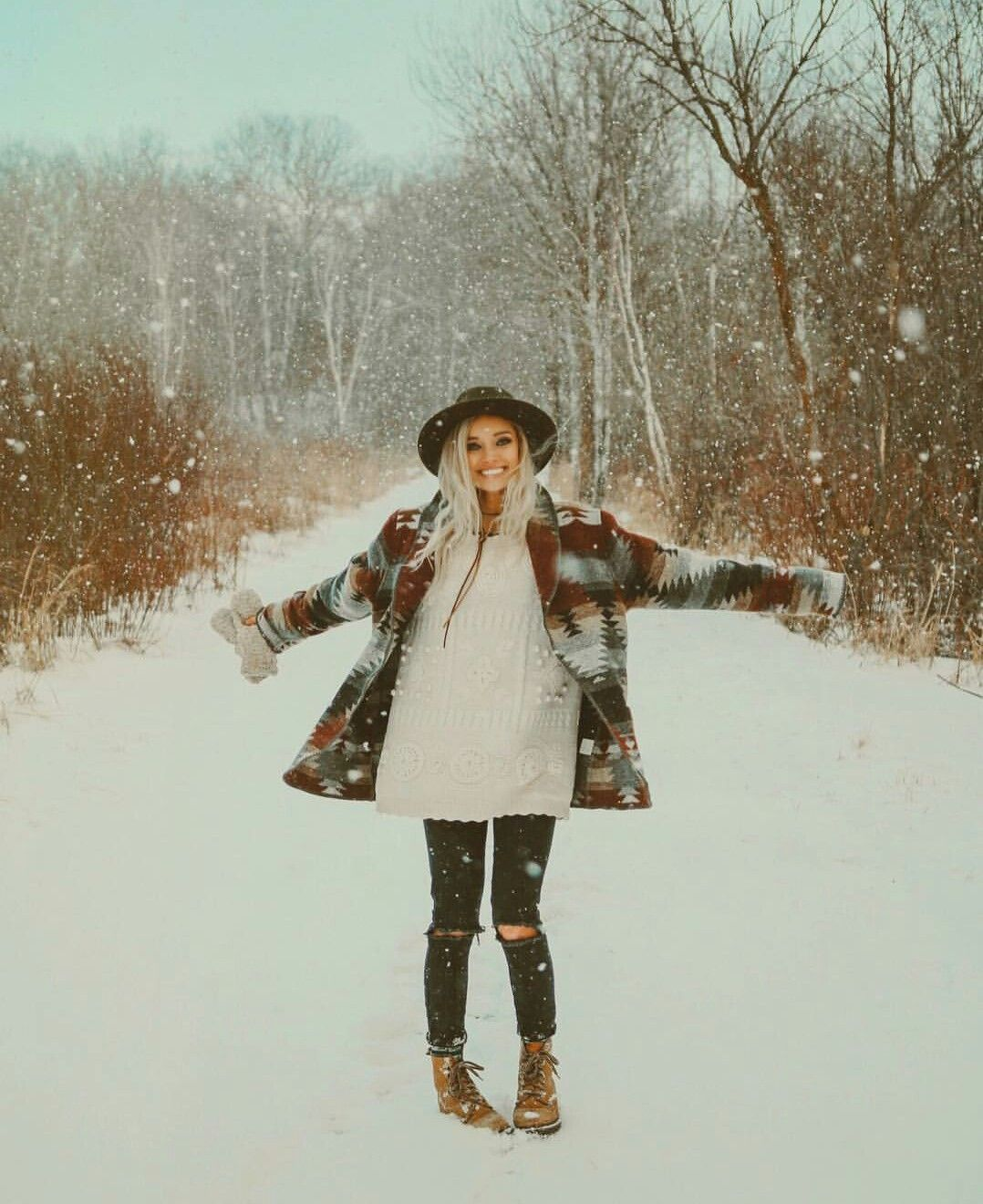 Boho Winter Outfits Cute: Dreaming_outloud (With Images)