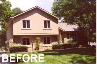 pleasing split entry house remodel before and after. House  Carmel tri level remodel and exterior renovation Gettum