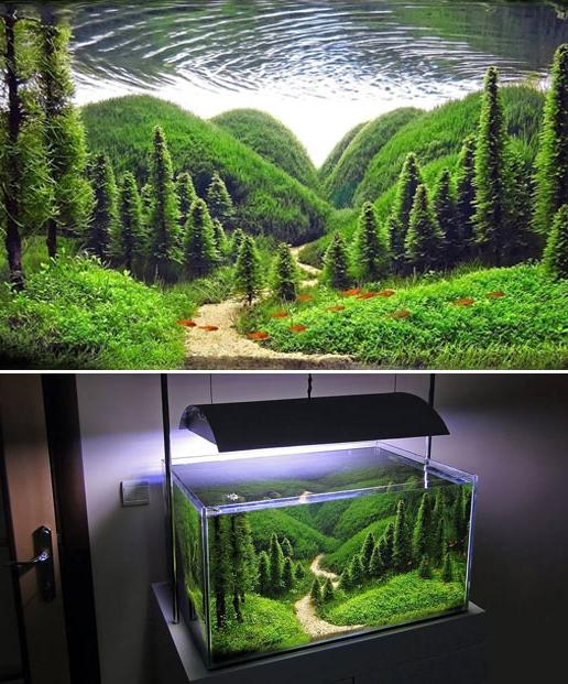 9 Aquascape Nano Tank Ideas Aquascape Paludarium Blog In 2020 Aquascape Aquarium Landscape Fresh Water Fish Tank