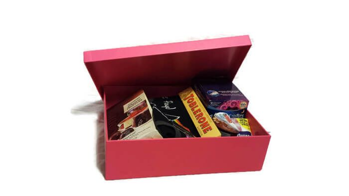 When you sign up for GRRLBOX, every month you will receive a box of carefully selected products and presents designed around your monthly needs. No matter what phase of menstrual health you might be in, you have control over your box. Each box will have a salty snack, a sweet snack, chocolate, a stress relief item, a feminine care item, something to pamper yourself with, and a pretty pair of panties to help make Mother Nature's little gift a bit more bearable. GRRLBOX, it's like a PMS...