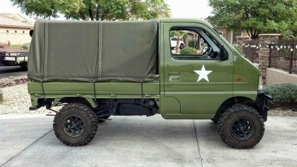 suzuki carry kei mini trucks moto powered pinterest minis 4x4 and cars. Black Bedroom Furniture Sets. Home Design Ideas