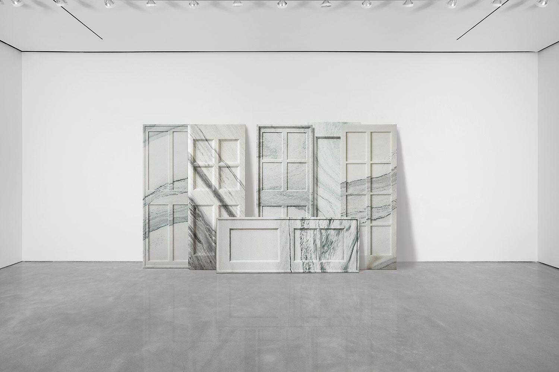 """Ai Weiwei """"Marble Doors"""""""