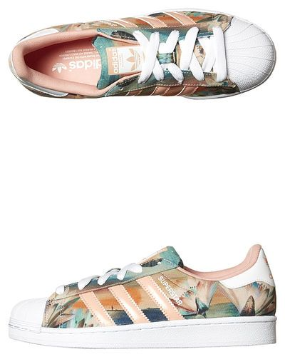new arrival 942cd 33848 ADIDAS ORIGINALS SUPERSTAR SHOE - PINK WHITE DUST PINK on http   www.