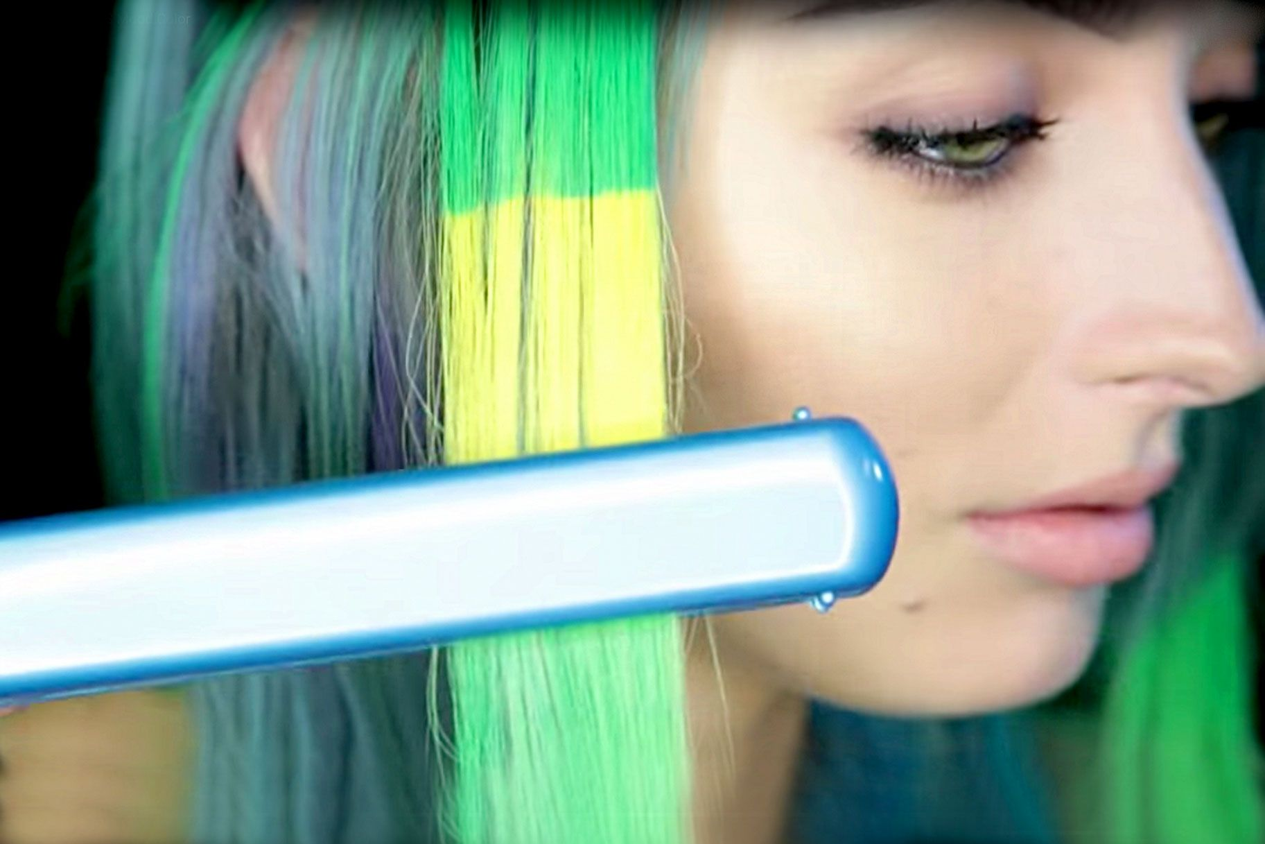 Color-Changing Hair Dye Is a Thing Now Thanks to Pravana