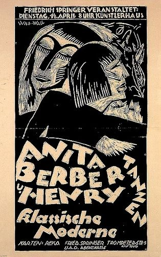 Anita Berber Dance 1925 Berber Weimar Jazz Poster