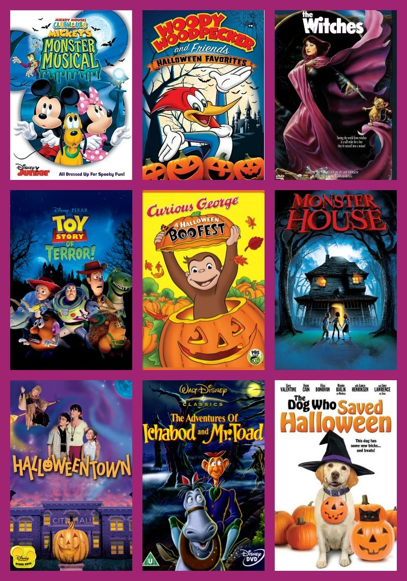 The Best Halloween Movies For Kids | Halloween movies, Movie and ...