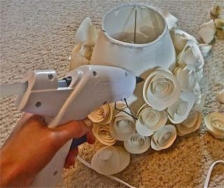 How to Make a Rosette Lampshade