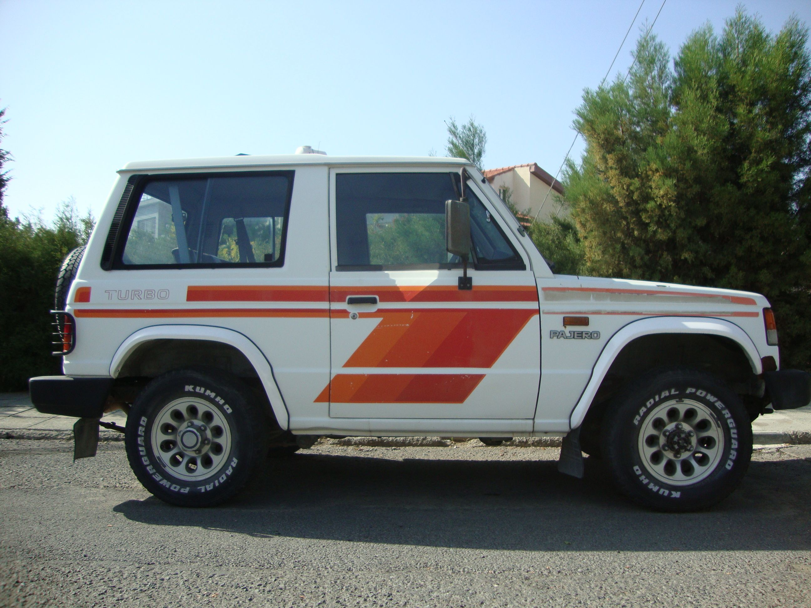 My first car, a 29 year old Pajero MK1, before restoration. | Pajero ...