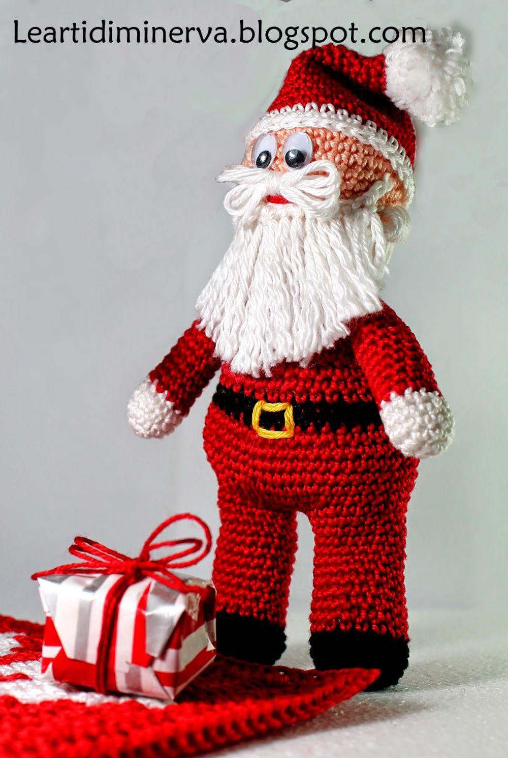 Amigurumi Natale.Maryj Handmade Santa Claus Is Coming To Town Babbo Natale Amigurumi Free Pat Christmas Crochet Patterns Christmas Crochet Patterns Free Christmas Crochet
