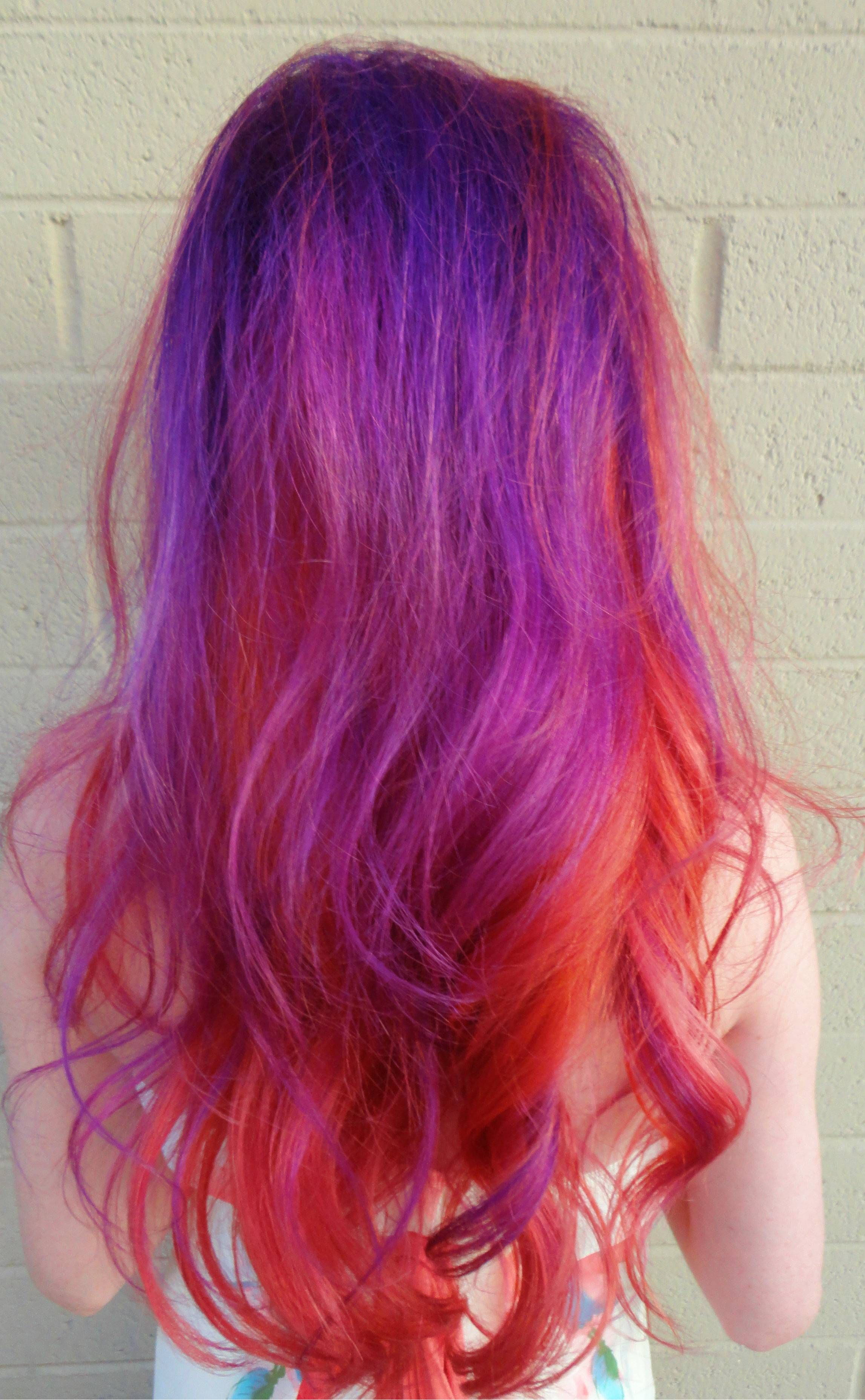 Pravana Orange Magenta Violet Cute Coral Neon Pink Haircolor