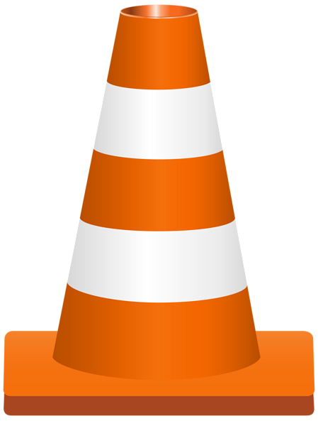 Traffic Cone PNG Clip Art Image
