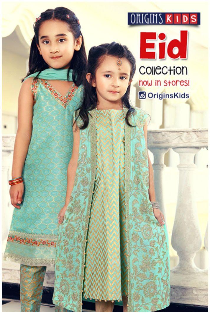 67753951b Baby Frocks eid wear by Origins Kids