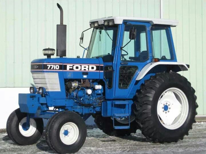 Ford 7710 Ford Tractors Classic Tractor Tractors