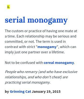 Define monogamist