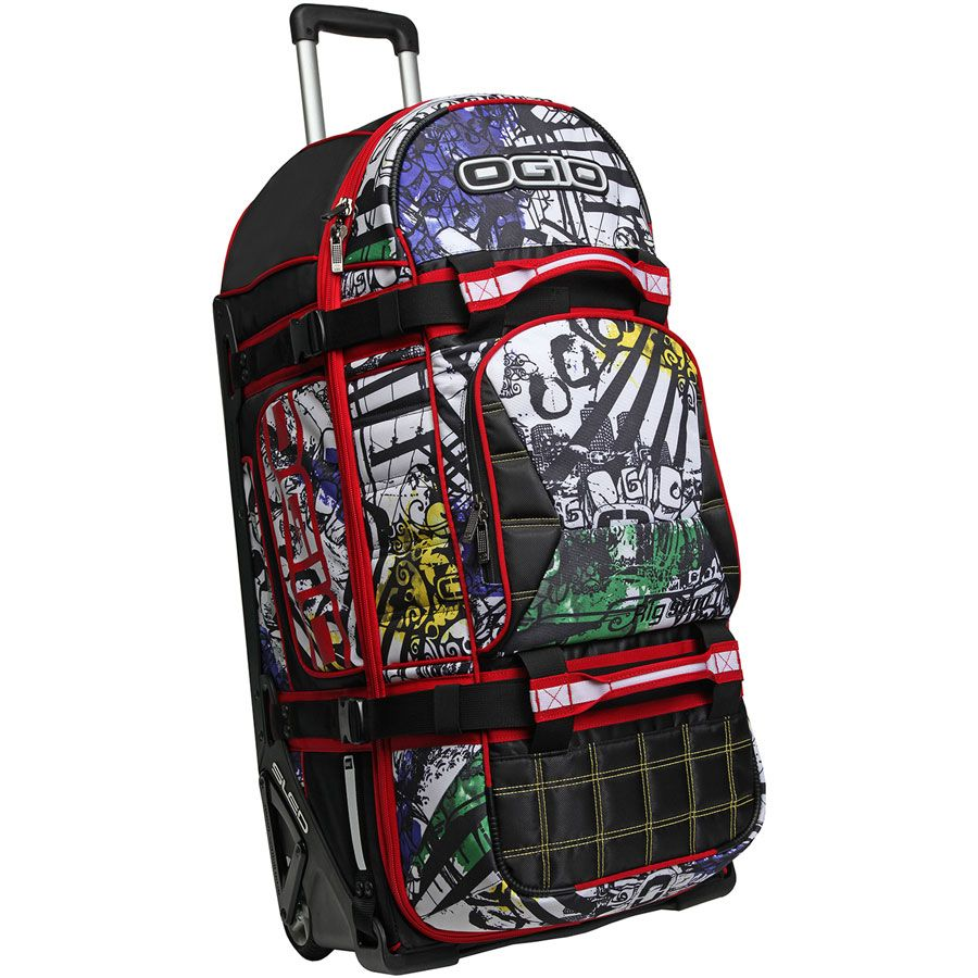 Ogio Rig 9800 Wheeled Gear Bag Graffiti Ltd Edition Ogio Gear Bags Motocross Bags Hydrapaks Motocross Kit By Bags Gear Bag Laptop Bag