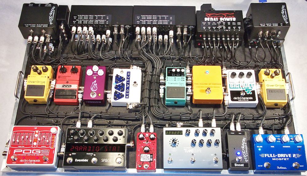 pedal board breakdown jimmy shaw metric pedal boards pedalboard guitar pedals guitar. Black Bedroom Furniture Sets. Home Design Ideas