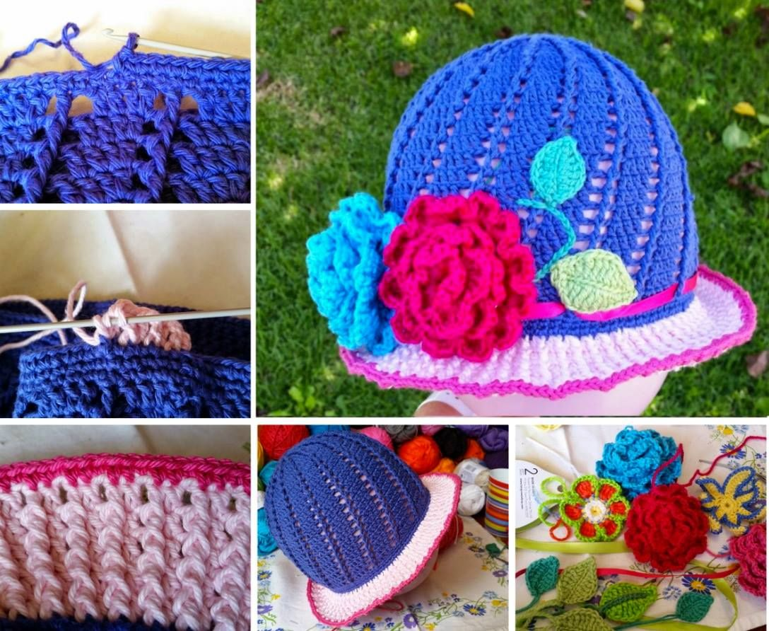 Crochet Cloche Hats The Best Free Collection | Tejido
