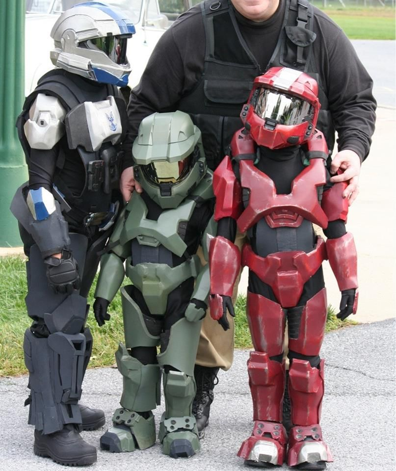 Awesome kids Halo Master Chief cosplay costumes & Awesome kids Halo Master Chief cosplay costumes | Cosplay ...