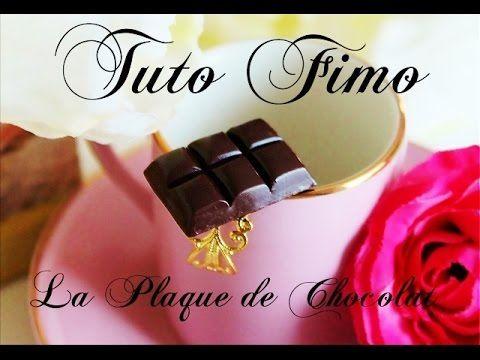 Tuto FIMO : La Plaque de Chocolat