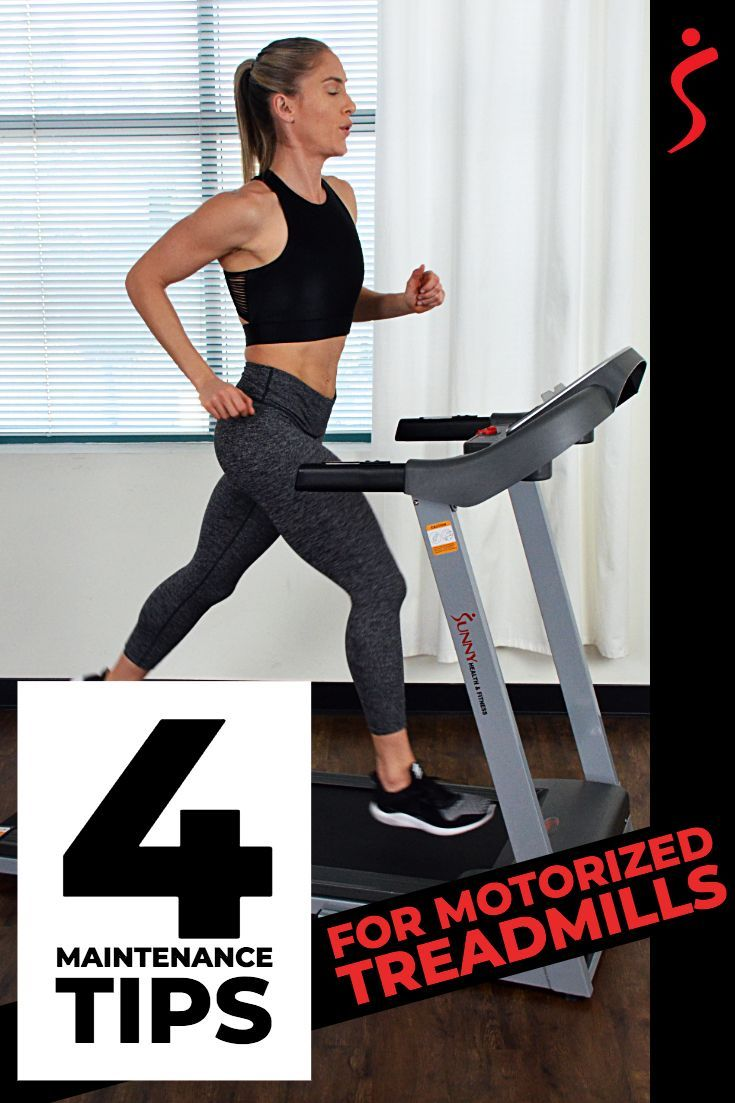 Motorized auto treadmill maintenance cleaning guide