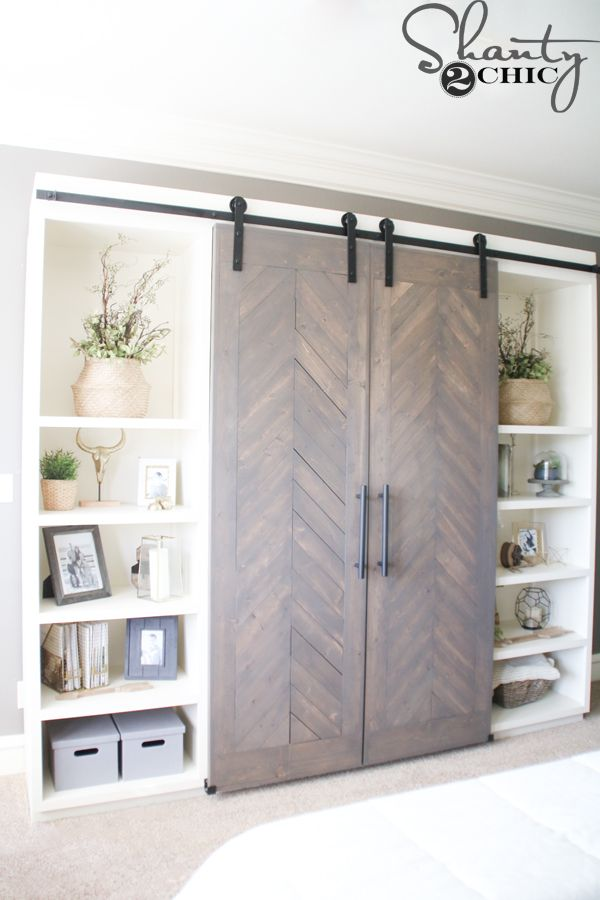 Sliding Barn Door Media Console Home Additions Pinterest Media