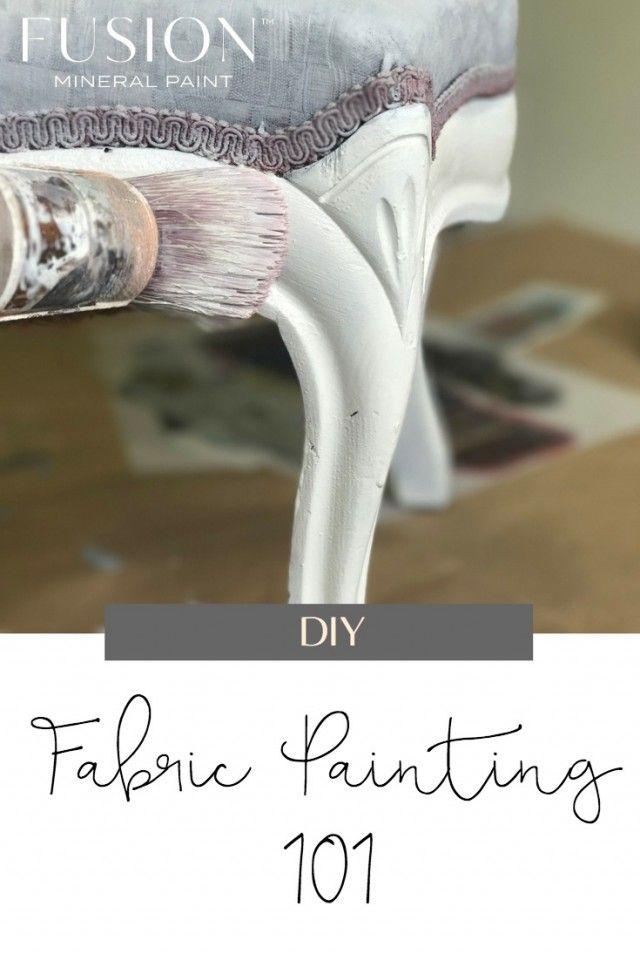 Painting Fabric #paintfabric