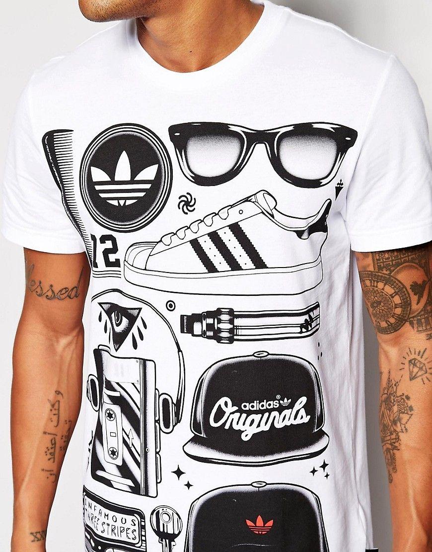 Adidas Originals Graphics T-Shirt at asos.com