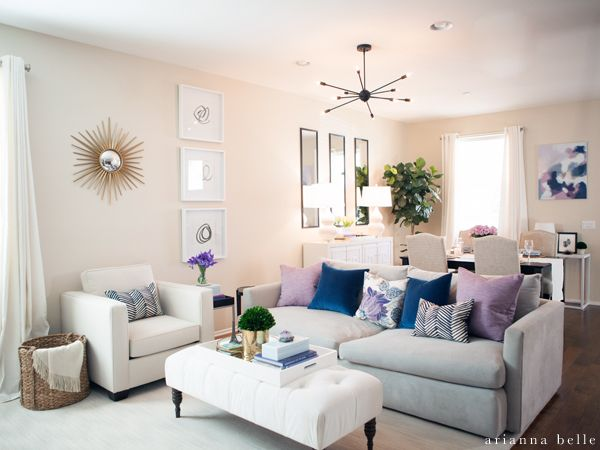 Arianna Belle One Room Challenge Reveal Httpariannabelle Fascinating Living Room And Dining Room In One 2018