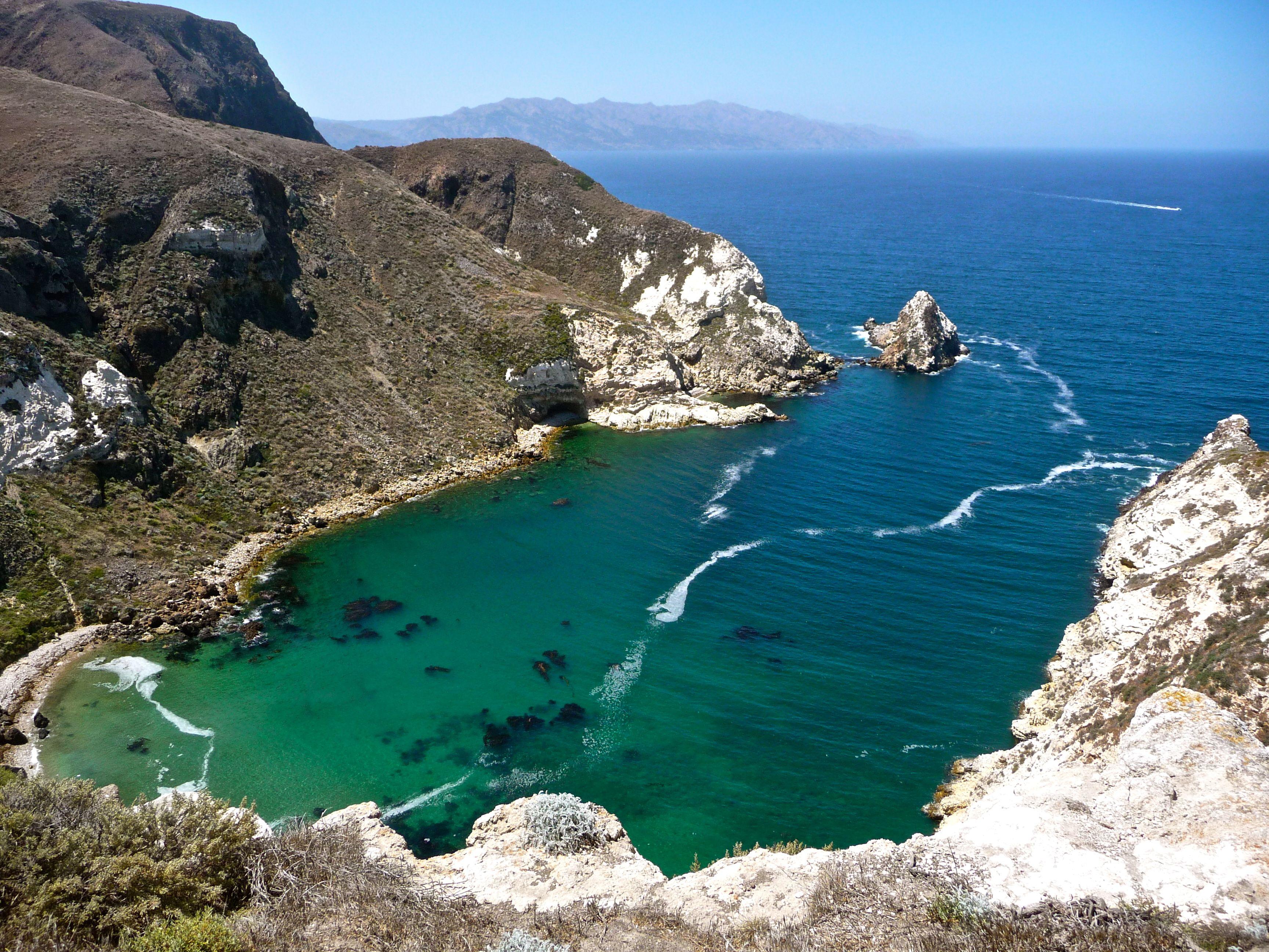 Potato Harbor Santa Cruz Island Places I Have