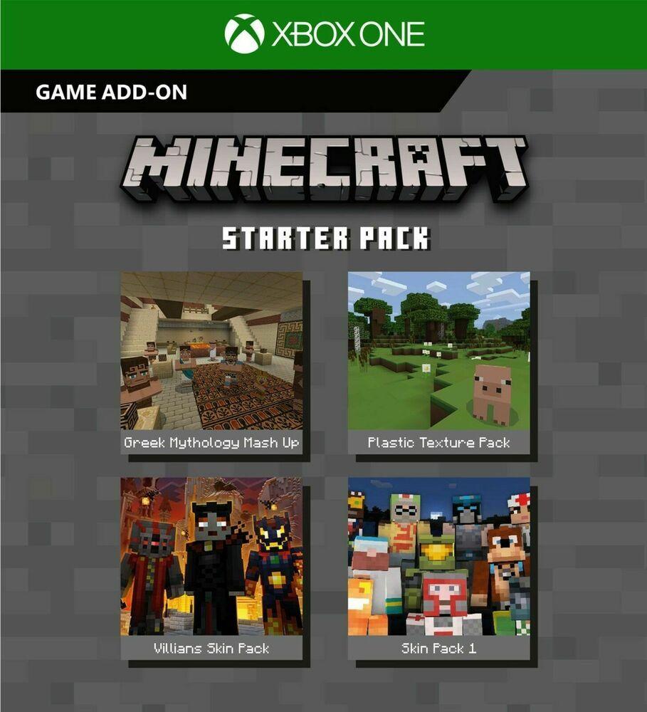 Xbox One Minecraft Full Game 1k Minecoins Starter Creators